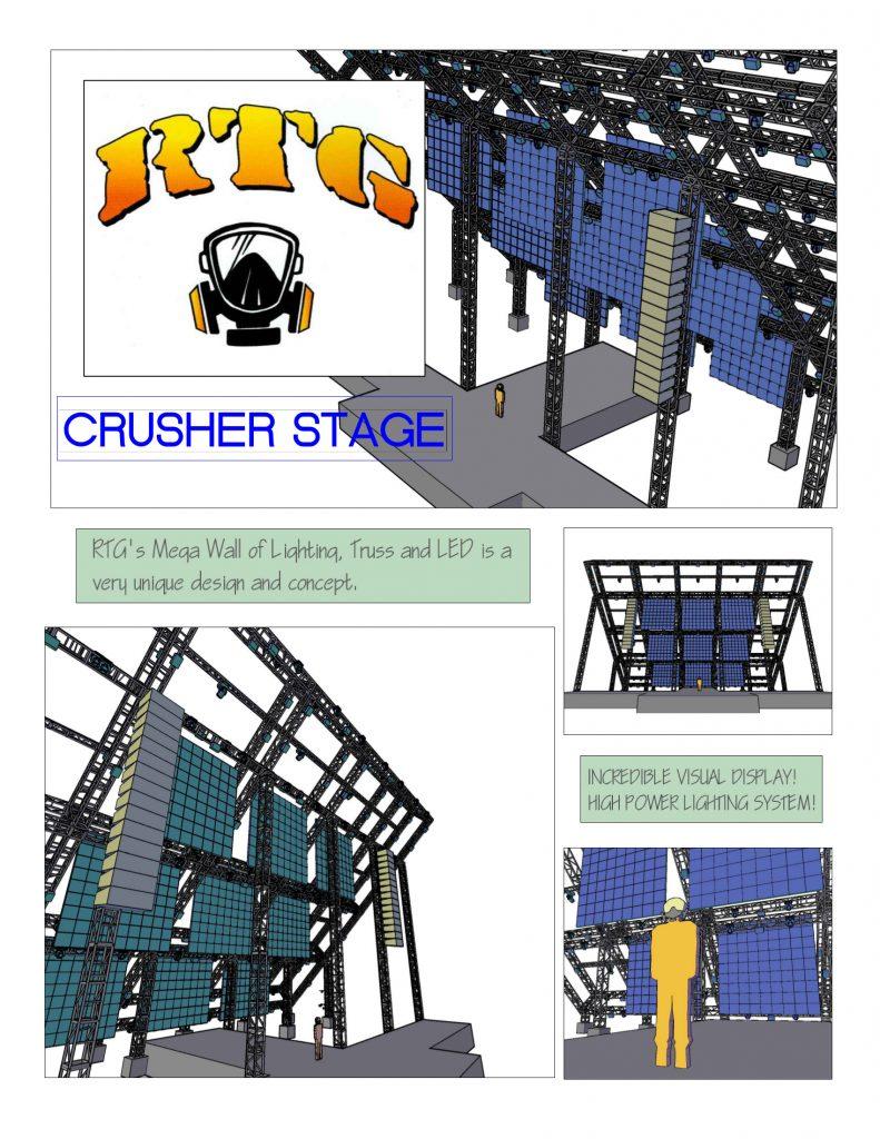 rtg crusher stage design